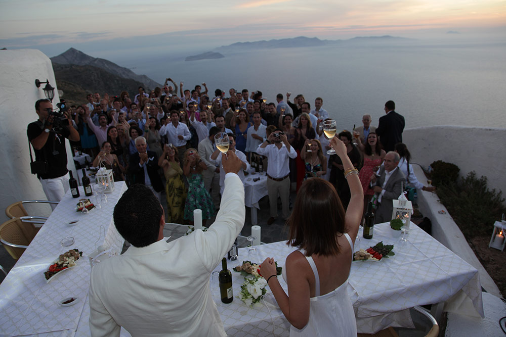 Weddings and Receptions in Manalis Winery