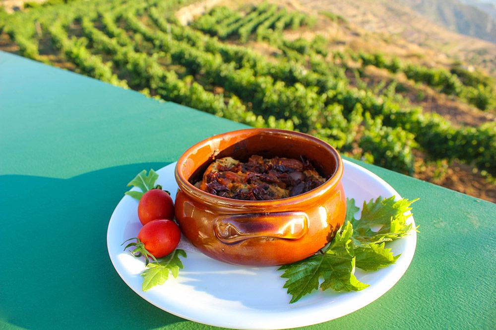 Restaurant Strofylia Dishes