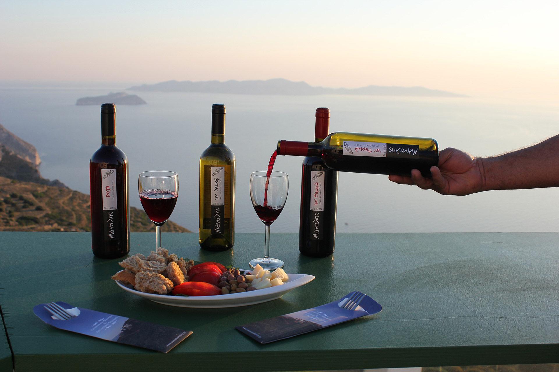 Το πάθος μας για ποιοτικό κρασί είναι η καινοτομία μας!